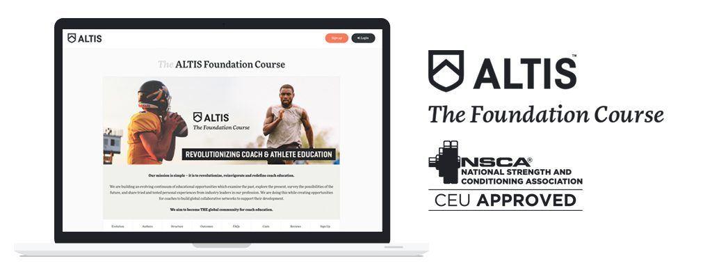 The ALTIS Foundation Course • ALTIS