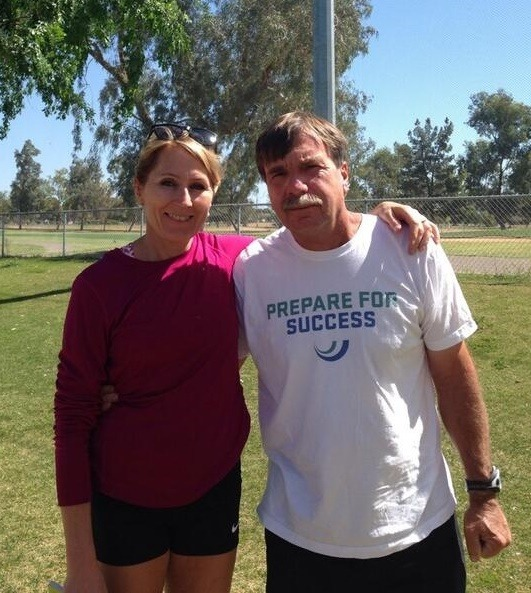 Coach Anne Brit Skjæveland Sandberg was coached by Dan Pfaff at UTEP in the 1980's and has now returned to Altis as a Coach.