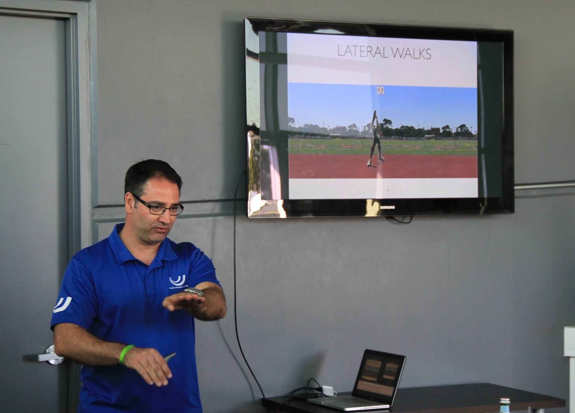 """Better athletes spend more time in front side mechanics"" Dr Gerry Ramogida"