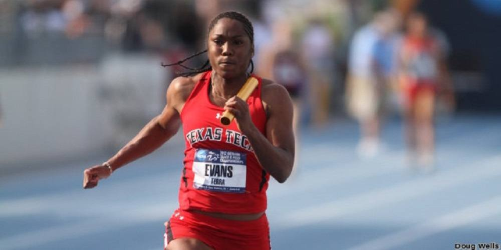 Terra Evans from Texas Tech joins World Athletics Center