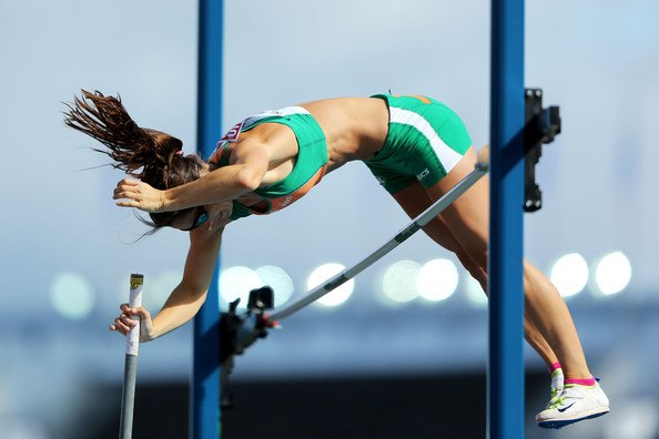 Irish record holder - Tori Pena claimed a season's best to place 2nd in a strong women's Pole Vault field.