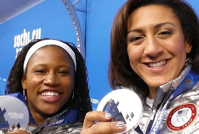 WAC Athletes Lauryn Williams and Elana Meyers won a Silver medal at the Winter Olympics in the 2 women bobsleigh.