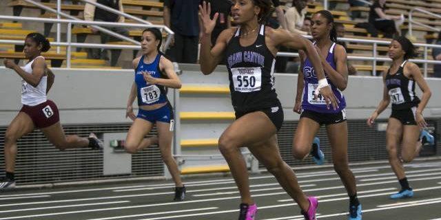 Shavine Hodges Sprinting